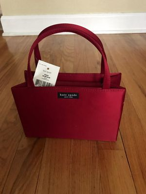 Kate Spade small purse (deep red) for Sale in Chicago, IL