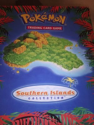 *POKEMON VINTAGE SOUTHER ISLANDS COLLECTION OUTER CASE* for Sale in Pomona, CA