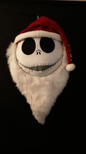Nightmare Before Christmas Santa Jack Reversible Plush Pillow for Sale in Houston, TX