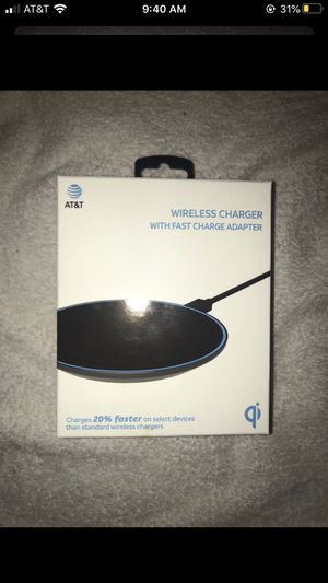 AT&T WIRELESS CHARGING PAD (iPhone/Android) for Sale in Riverside, CA