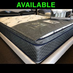 QUEEN COOL GEL MEMORY FOAM HYBRID PILLOW TOP MATTRESS ❄️ POCKET COILS ❤️ALL SIZES AVAILABLE 🛏 MADE IN 🇺🇸 for Sale in Huntington Beach, CA