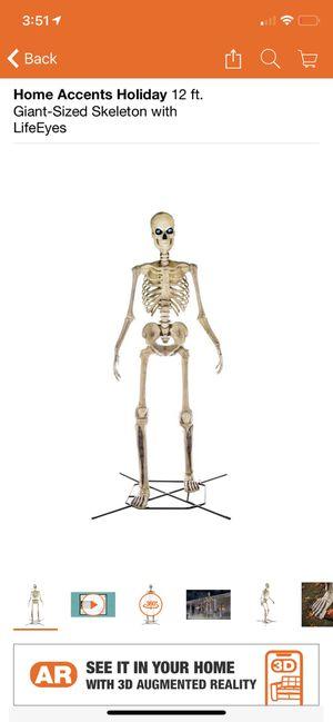 12ft skeleton for Sale in Corona, CA