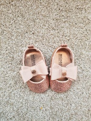 New Michael Kors Baby Shoes Size 2 for Sale in Norcross, GA