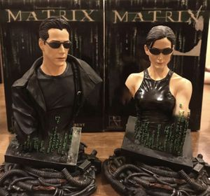THE MATRIX BUST GENTLE GIANT STATUE NEO AND TRINITY COLLECTIBLES for Sale in Fresno, CA