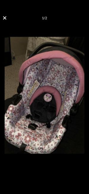 Minnie mouse car sear and stroller for Sale in Georgetown, TX