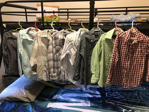 Boys long-sleeved collared shirts Size 5/6 for Sale in Nipomo, CA