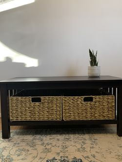 Wood Storage Coffee Table for Sale in Reynoldsburg,  OH
