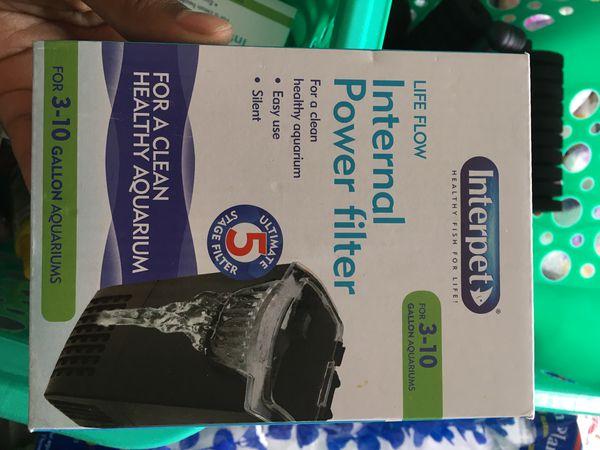 10 gallon filter for aquarium