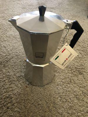 New Stovetop Espresso Maker for Sale in Kent, WA