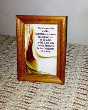 Framed Father's Day Poem for Sale in Detroit, MI