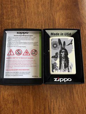 Native American Zippo USA lighter for Sale in South Gate, CA