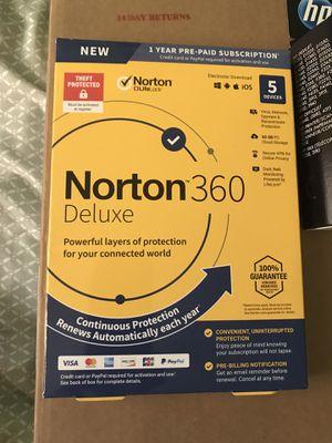 Norton anti virus deluxe 360 for Sale in Long Beach, CA
