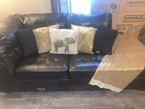 DarkBrown Couch for Sale in GILLEM ENCLAVE, GA
