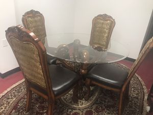 Dining table with chairs for Sale in Greensboro, NC