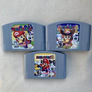 Mario Party 1,2,3 Nintendo 64 Tested for Sale in Myrtle Beach, SC