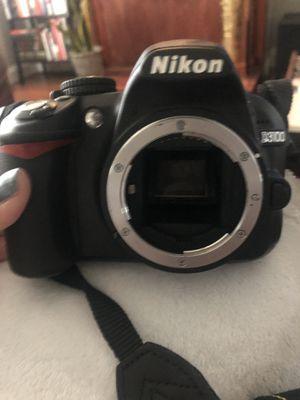 Nikon D3100, lens, case and charger for Sale in Denver, CO
