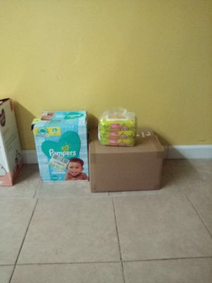 Pampers Wipes for Sale in Wildomar, CA