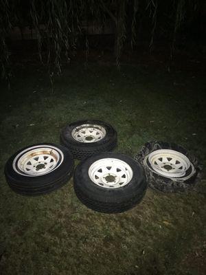 Trailer wheels for Sale in Lynnwood, WA