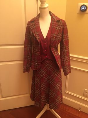 Wool 3 piece suit Vintage 1970s Mary Tyler Moore for Sale in Milton, WA