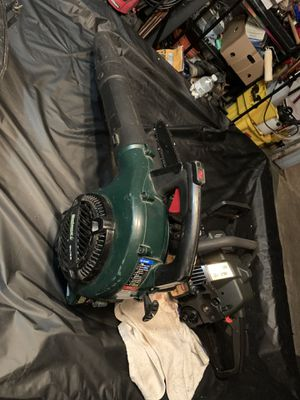 18 chainsaw and hand Blower for Sale in Channelview, TX
