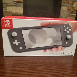 Nintendo Switch Lite Gray for Sale in St. Peters, MO