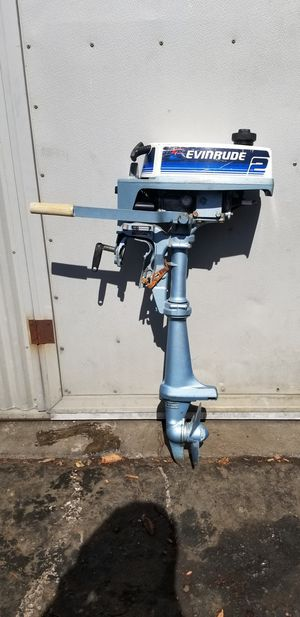 Evinrude 2 HP outboard boat motor for Sale in Huntington Beach, CA