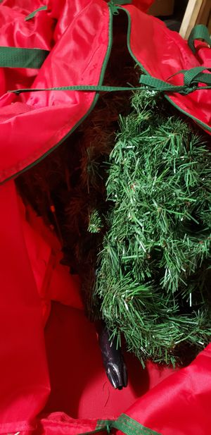 6.5 Artifical Christmas tree with bag for Sale in Pikeville, NC