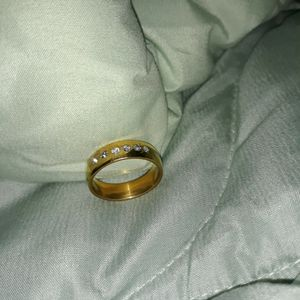 18 K Gold Plated Wedding Ring, Size 8. for Sale in Dallas, TX