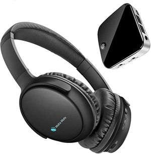 NEW TV Wireless Headphones for TV with Bluetooth Transmitter & Receiver Set with Optical, Plug & Play, Foldable, No Delay, Hi-Fi Stereo Digital Heads for Sale in Alhambra, CA