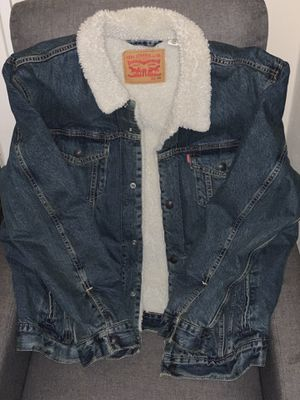 Levi denim jacket and jeans for Sale in Milwaukee, WI