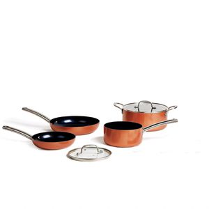 NEW UNUSED - Fry Pan, Source Pan & Casserole Pot 6pcs Set - Free Gift w/purchase for Sale in Framingham, MA