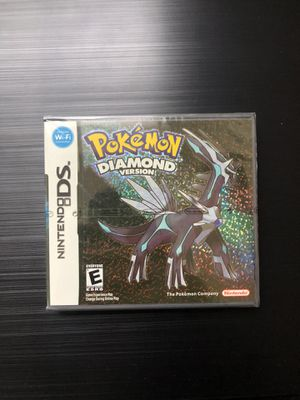NEW Sealed Pokemon Diamond (Nintendo DS,2007) Saves, Works, Great Gift! for Sale in Pembroke Pines, FL