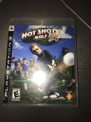 PS3 hot shots golf: out of bounds for Sale in Kirkland, WA