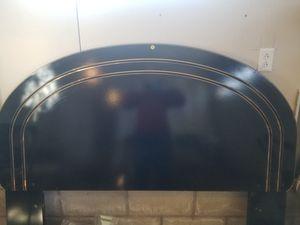 Black/gold Queen headboard for Sale in Janesville, IA