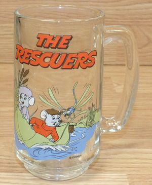 The Rescuers Collectable Mug Glass for Sale in Windermere, FL