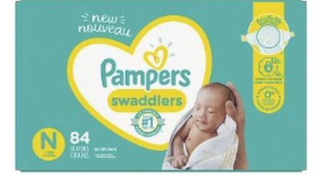 Diapers! PAMPERS SiZE -N-3-5 for Sale in Long Beach,  CA