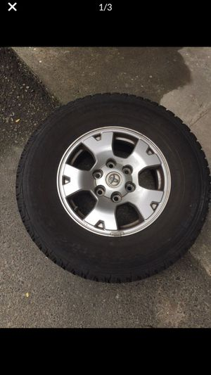 Toyota Tacoma tires , rims and hardwares for Sale in Mercer Island, WA