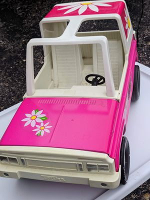 VINTAGE 1979 Hot Pink STEEL TONKA BARBIE BRONCO for Sale in Colorado Springs, CO