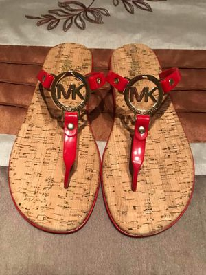 Michael Kors Sandals Size 7 Red for Sale in Las Vegas, NV