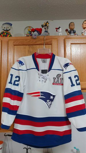 White Patriot hockey jerseys for Sale in Boston, MA