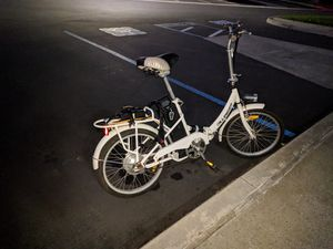 Electric foldable bike for Sale in San Diego, CA