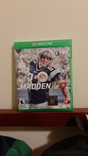 Madden 17 used for Sale in Renton, WA