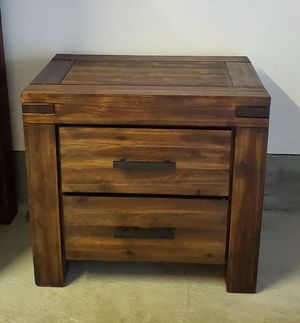Nightstand with 2 Drawers for Sale in Santee, CA