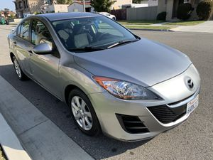 2010 Mazda 3 has 135K Miles 4 Cylinders Automatic Clean Title Current Tags till June 2020 4 Doors Power Windows Cold AC and Heater Good Tires and Bra for Sale in Westminster, CA