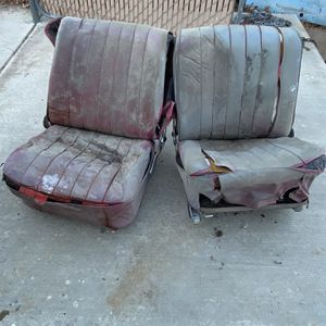 Mercedes Rare190SL 1958 Front Seats W/keiper Recliners for Sale in Hesperia, CA