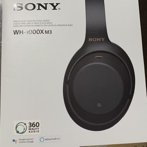Sony Headphones WH-1000X M3 Noise Cancellation for Sale in Porterville, CA