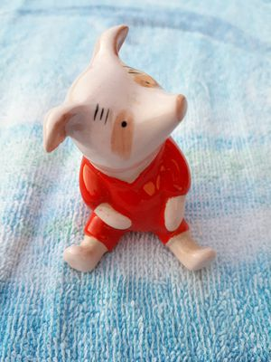 Vintage Walt Disney porcelain Piglet figurine for Sale in Bremen, GA