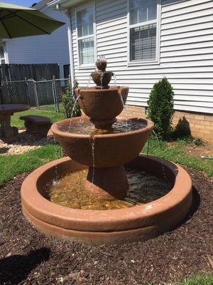 Al's Garden Art Concrete Water Fountain for Sale in Murfreesboro, TN