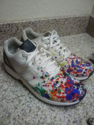 Adidas ZX Flux Splatter men's 10 for Sale in Marietta, GA