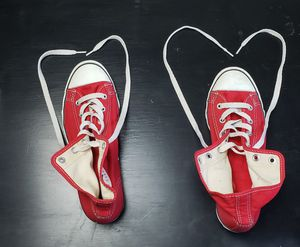 WOMEN'S SIZE 8 RED WEDGE CONVERSE for Sale in St. Louis, MO